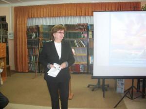 Антонина Тотиева. на презентации