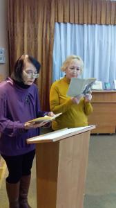 выступающие Моисеевская и Зиновьева